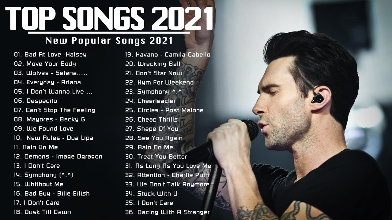 English  Songs 2021 ❤️ Top 100 Pop Songs 2021 Playlist ( Popular Pop Music Right 2021 Now )