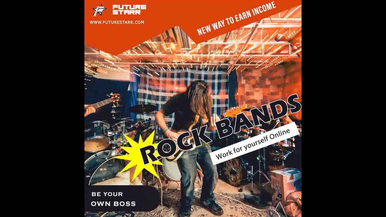 Rock Bands: Learn How to Make Money Online Selling Rock Music {Classic Rock 70s 80s 90s Rock}