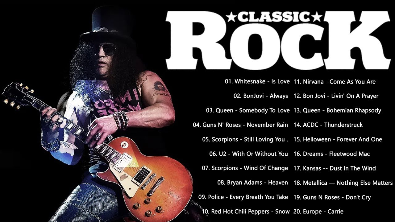 Classic Rock Music 80s 90s ⚡ Greatest Hits Rock 80s 90s ⚡ Best Classic Rock Songs Of 80s 90s