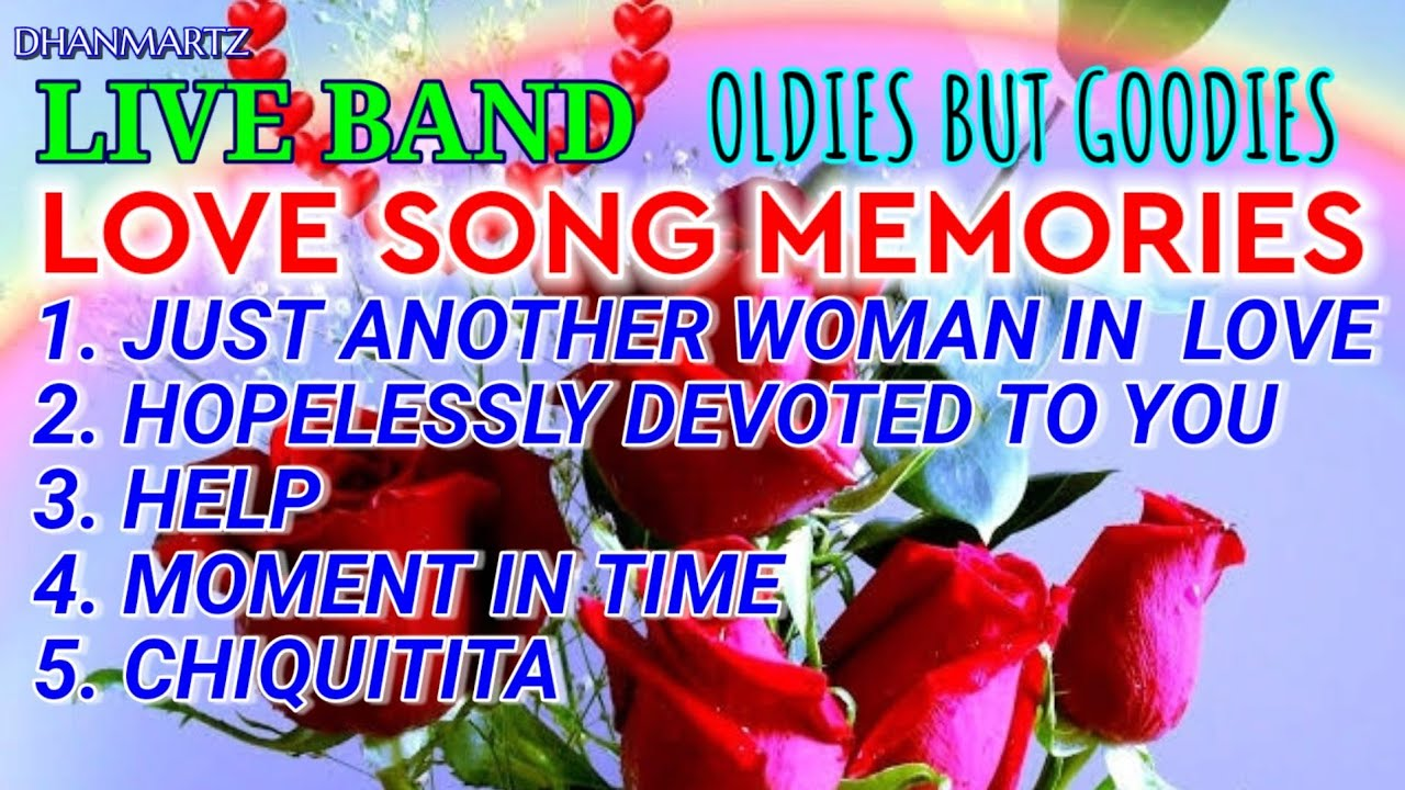 LIVE BAND || LOVE SONG MEMORIES MEDLEY | OLDIES BUT GOODIES