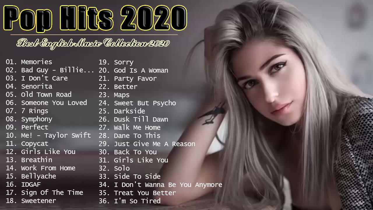 Pop Hits 2020 - Top 40 Popular Songs 2020 - Best English Music Collection 2020