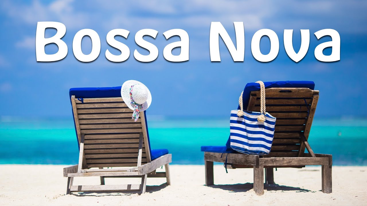 Summer Bossa Nova with Ocean Waves for Relax, Work & Study at Home