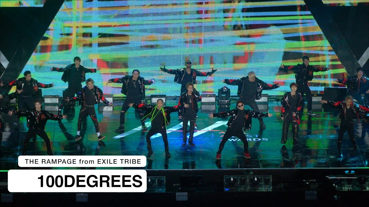 THE RAMPAGE from EXILE TRIBE[4K 직캠]100DEGREES@Rock Music