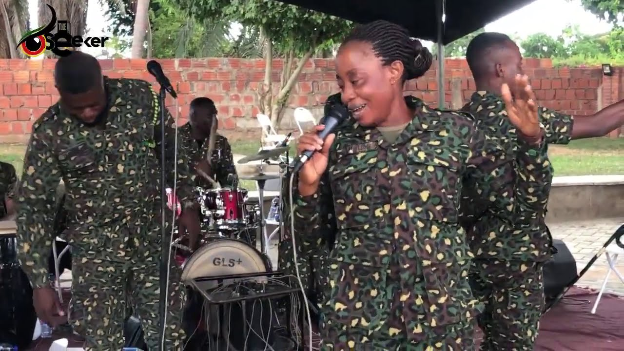 Best LIVE BAND Performance by Ghana Immigration Service.
