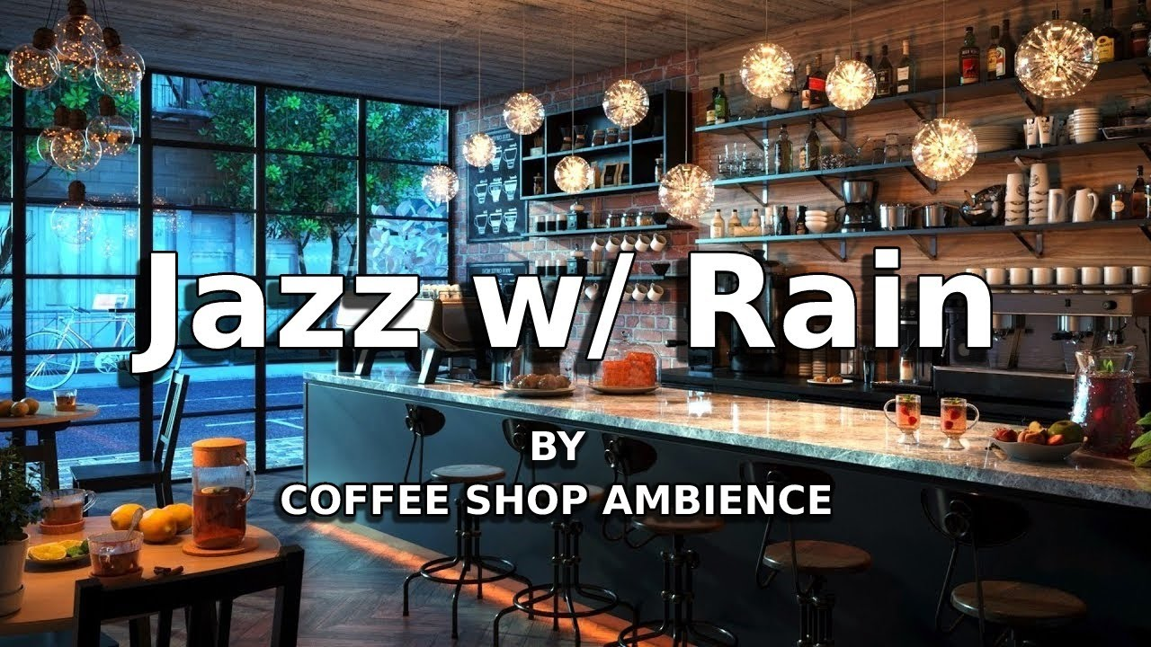 Relaxing Rainy Jazz Music - Slow Jazz Music 24/7 for Work, Relax & Study