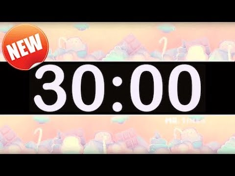 30 Minute Timer with Pop Music for Kids! Fun Timers for Classrooms!
