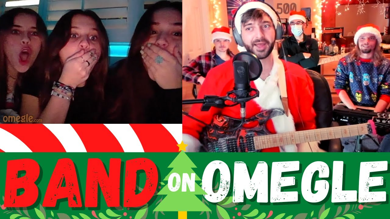 Live Band SHOCKS People on Omegle!! (FUNNY REACTIONS)
